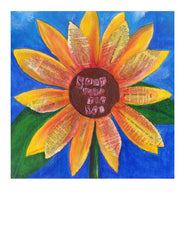 Soaring Sunflower - Print