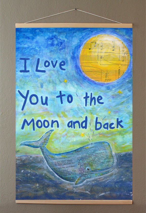 Banner Love You to the Moon