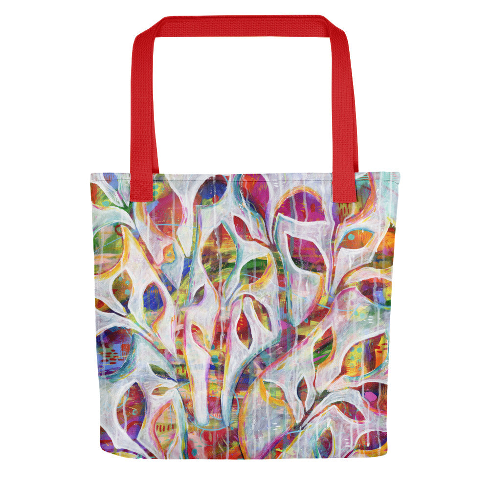 Deep-Rooted Beginnings Tote bag