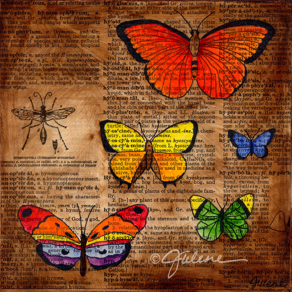 butterfly collector - Print
