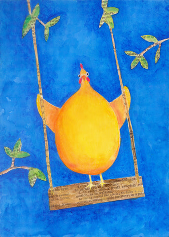 Chicken Swing - Print