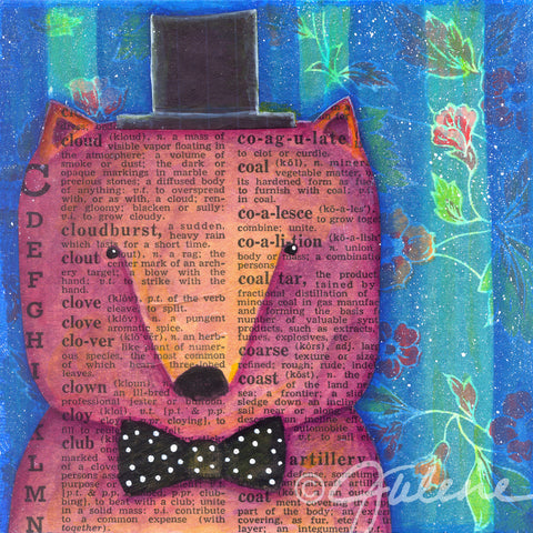 Dapper Top Hat Bear - Print