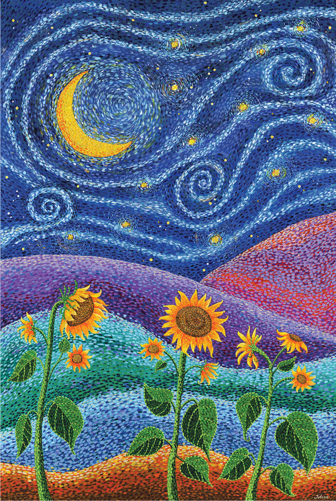 Dream Fields greeting card