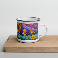 Dream Fields Enamel Mug