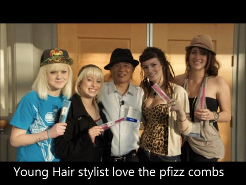 Pfizz Comb for pro Hairstylists