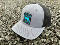 'Made For Fun' Trucker Hat - Grey/Black