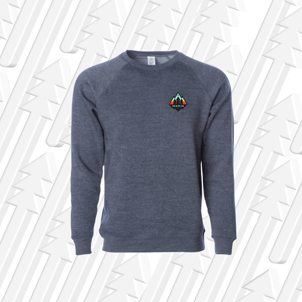 Marin Sunrise Crew Neck Sweater - Grey