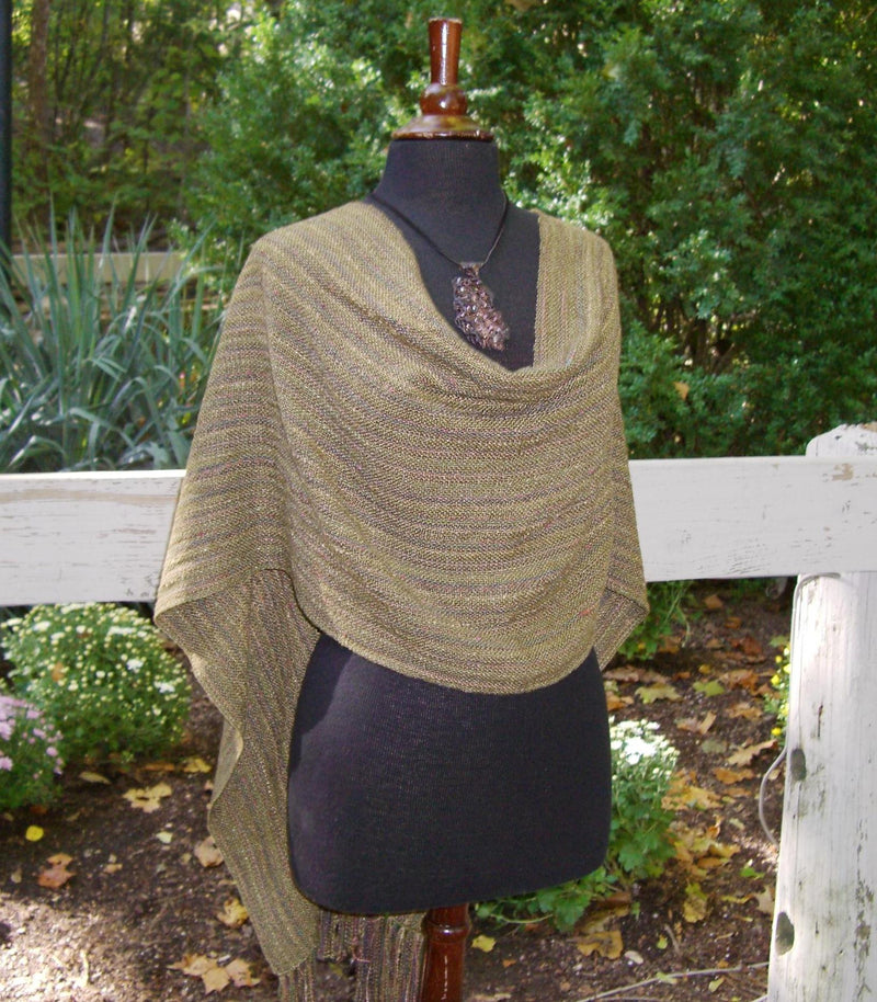 Handwoven Shoulder Drape