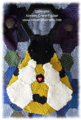Pattern - Hexagon Bumble Bee