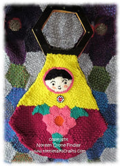 Pattern - Hexagon Matroushka Doll Bag