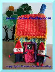 Video - Weave Gnomes and their Houses on Potholder Loom