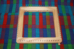 How to Stitch Woven Potholder Loom Shapes Together
