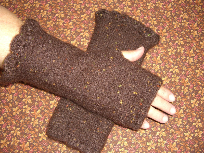 Felted Fingerless Gloves Pattern