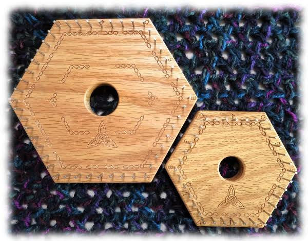 Tri-Axial Weave Instructions for Hexagon Looms - Instructions and Patterns