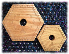 Hexagon Looms - Instructions and Patterns