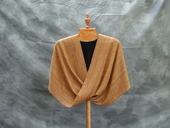 Luxurious Hand Woven Mobius Wrap