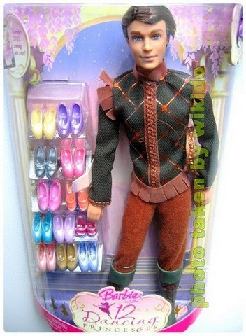 Wiki Dolls Barbie 12 Dancing Princesses Prince Derek