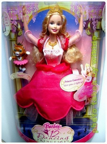 Wiki Dolls Barbie 12 Dancing Princesses Genevieve Doll