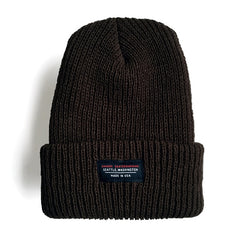 """Made in USA"" Beanie Black"
