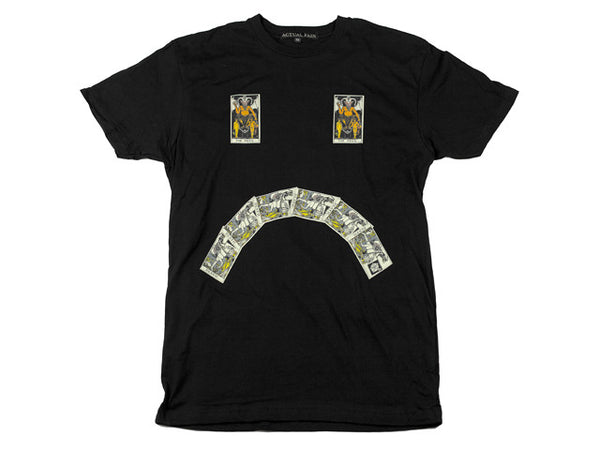 I FEEL TAROTBLE // TEE // BLACK