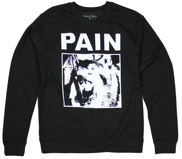 Pain Dog // Crew // Black