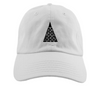 Giza // White // Unstructured Twill Hat