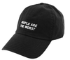 People Are The Worst // Black // Unstructured Twill Hat
