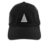 Giza // Black // Unstructured Twill Hat
