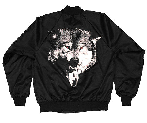 Acid Wolf // Nylon Snap Jacket