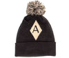 Diamond A Logo // Pom Beanie // Hat