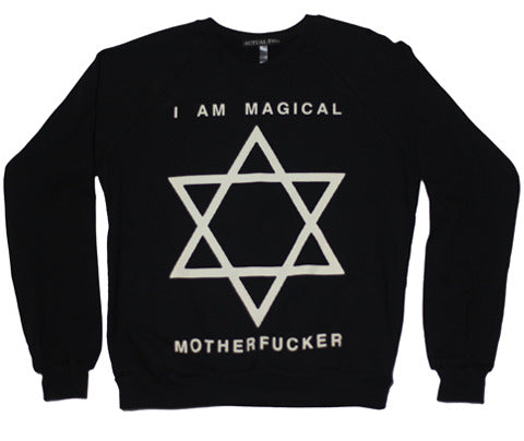 I Am Magical // Crew // Black
