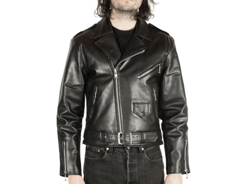 Actual Pain // Vegan Leather // Men's Black Jacket