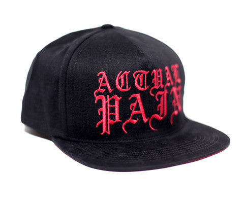Olde English Logo // Red on Black // Hat