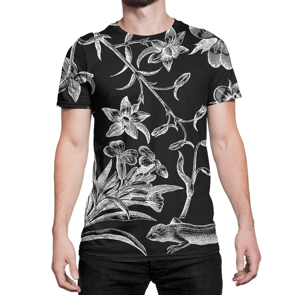 Botanical // All Over Printed // Men's T-shirt