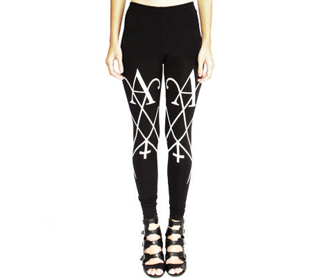Sigil // Leggings // Black