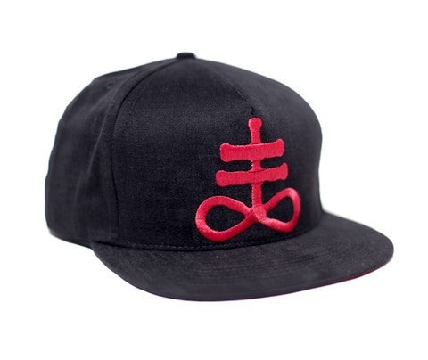 Sulphur // Red on Black // Hat