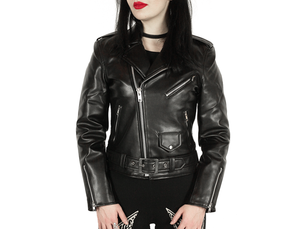 Actual Pain // Vegan Leather // Women's Black Jacket