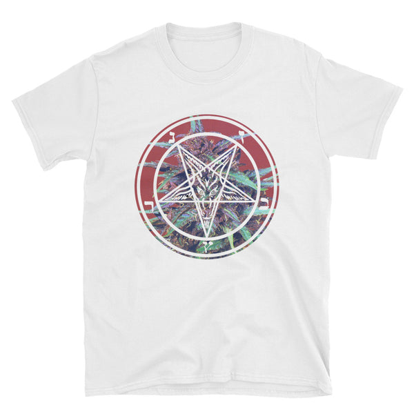 Pentagrass // White // Short-Sleeve Unisex T-Shirt