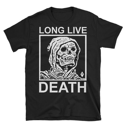 Long Live Death // Unisex Black Tee