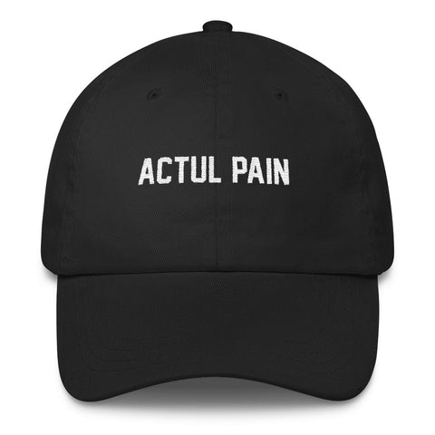ACTUL PAIN // BOOTLEG // UNSTRUCTERED TWILL HAT