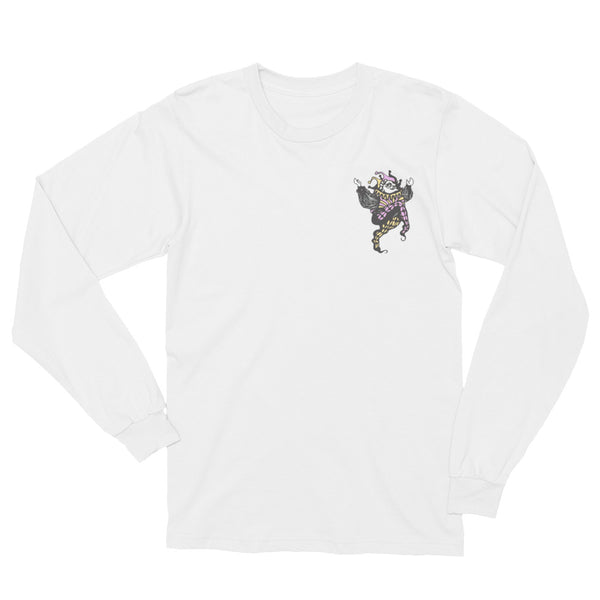 Joker // White // Long Sleeve Tee