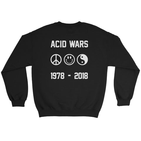 Acid Wars // Dark Colored // Crewneck Sweater