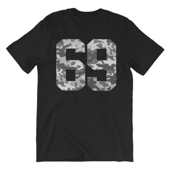 '69 CAMO // FRONT AND BACK // TEE