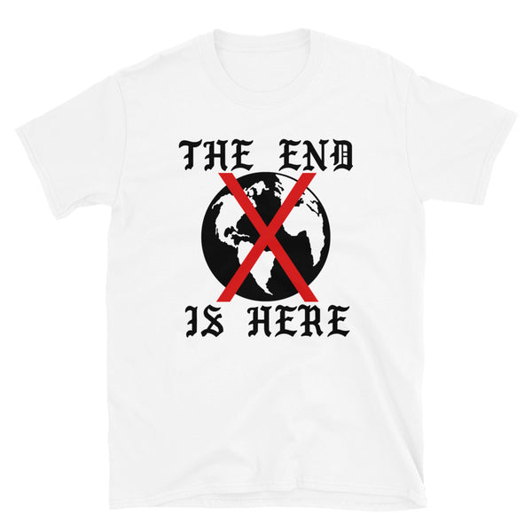 The End // White Unisex Tee