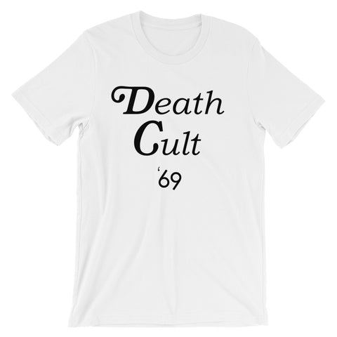 Death Cult 69 // White // Tee