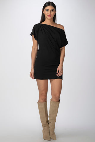 Anguilla Tunic, Black
