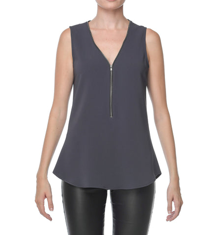Joyas Double Zipper Bahia Top