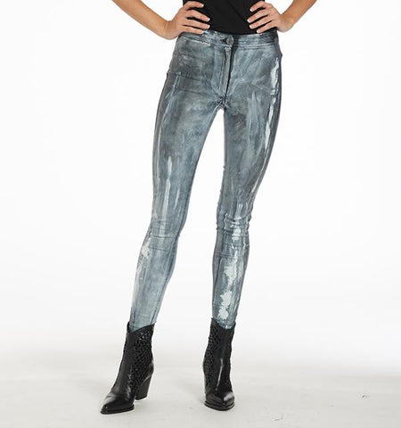 BA Painted Waxed Pants, Grey Cloud