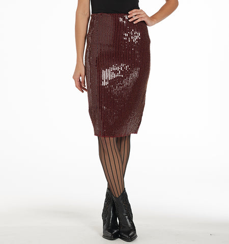 Varon Paillette Skirt
