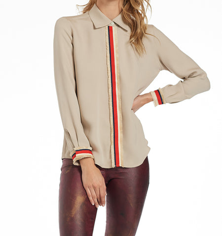 Gustavia Blouse, Cream